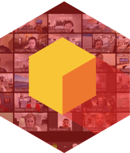 Icon Easybox with people inside